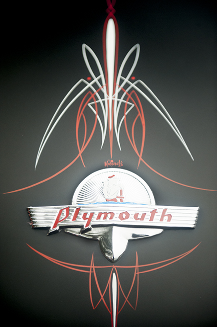 Plymouth pinstripping