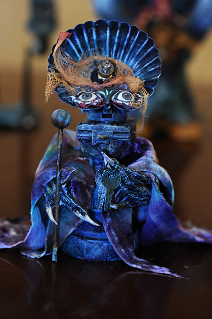 Assemblage The Hierophant by Kristen Penrod