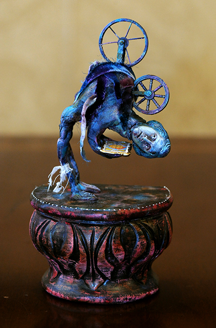 Assemblage The Wheel of Fortune by Kristen Penrod