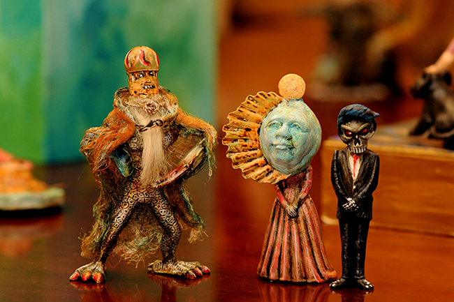 Assemblage by Sharon Ross