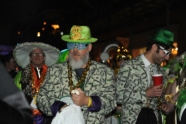Krewe du Vieux light up glasses