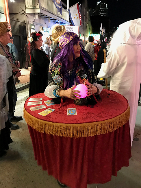 Kathy Gould as fortune teller