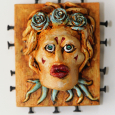 Assemblage Muse Rose by Karen Rexrode