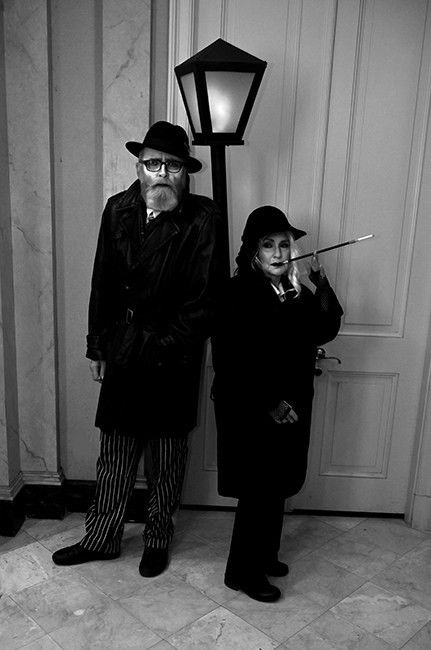 Film noir with David Donley and Kathy Gould
