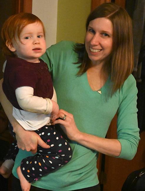 Becky and Juniper Thanksgiving