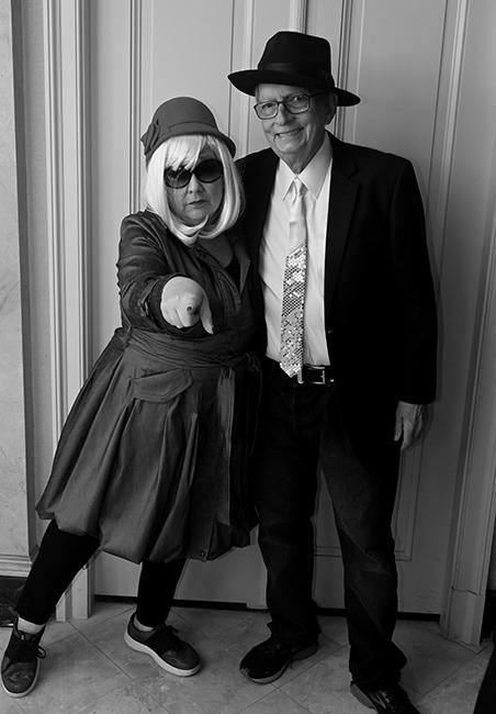 Marilyn and John Werst for film noir