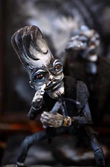 Michael deMeng's noir character