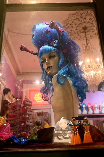 FiFi Mahoney's wig shop