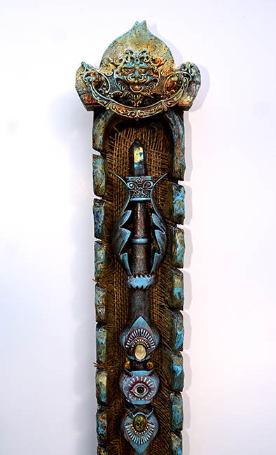 Assemblage 'The Wand of Protection' detail