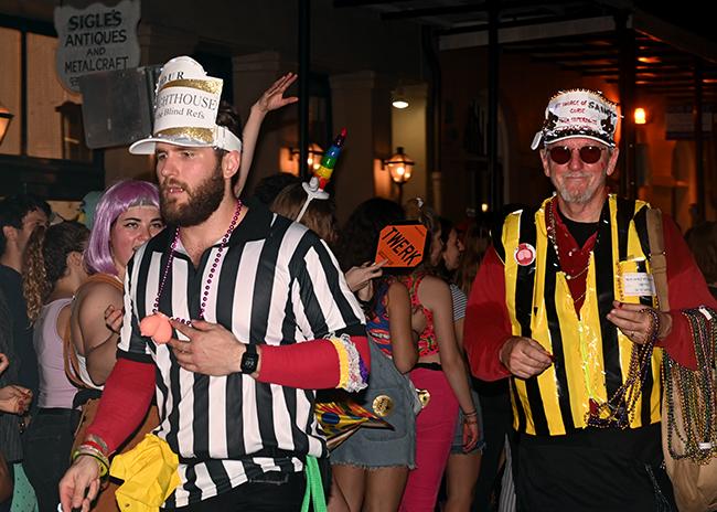 New Orleans Krewe du Vieux blind referee