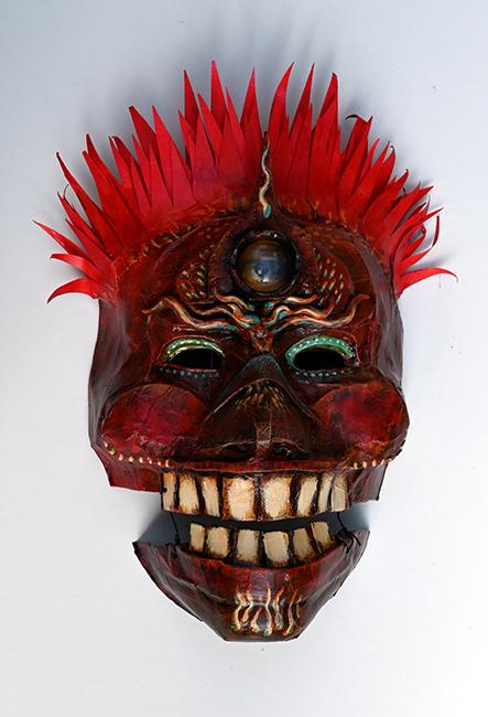 Mask Third Eyed Red