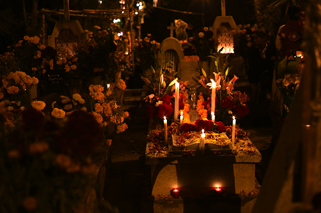 Day of the Dead at San Felipe Cemetery