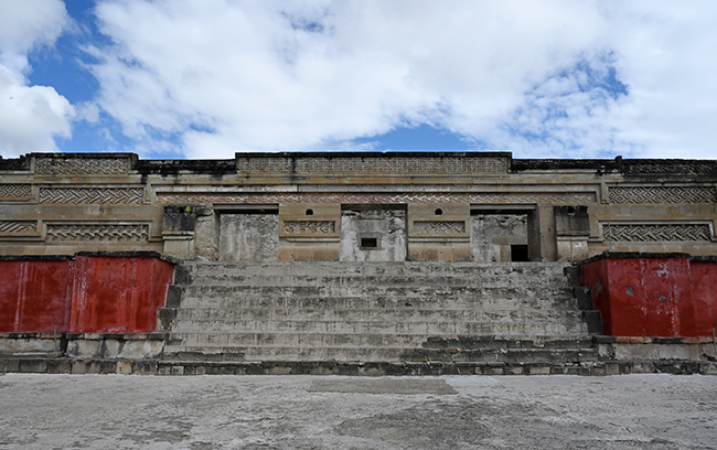Ancient ruins at Mitla