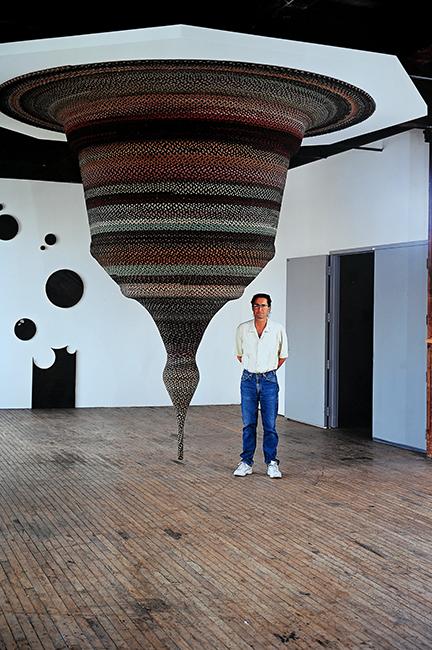 Steven Woodward installation artist