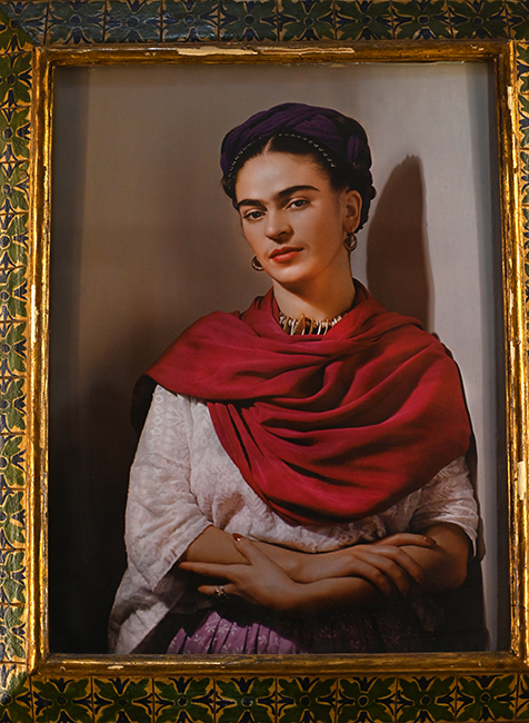 Photograph of Frida Khalo