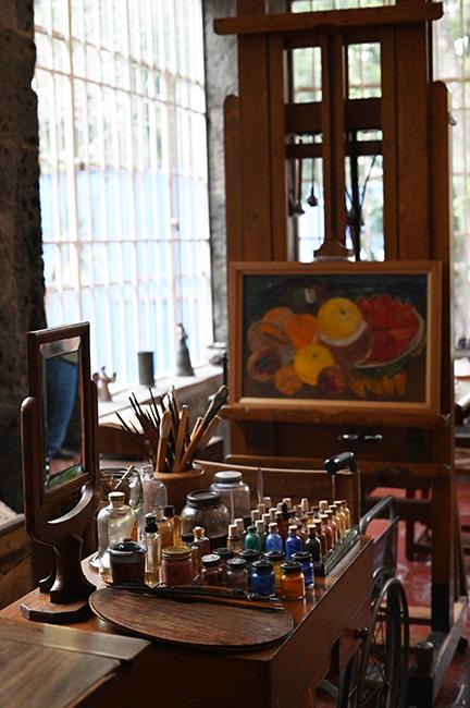 Frida Khalo's studio