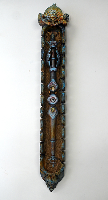 Assemblage 'The Wand of Protection'
