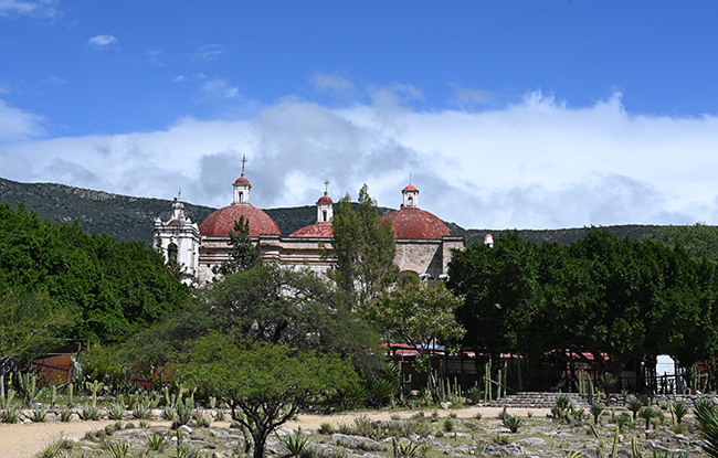 The grounds of Mitla