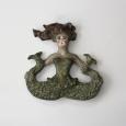Kathleen Kendall clay mermaid for Kathleen