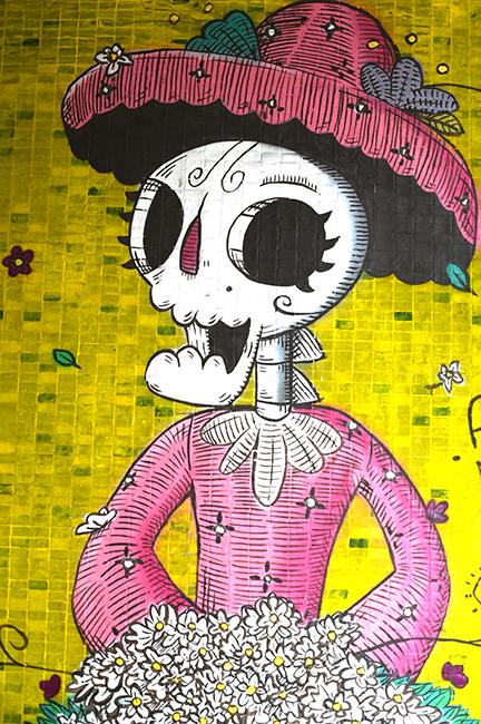 Street art Katrina