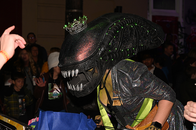 Krewe of Chewbacchus alien Queen