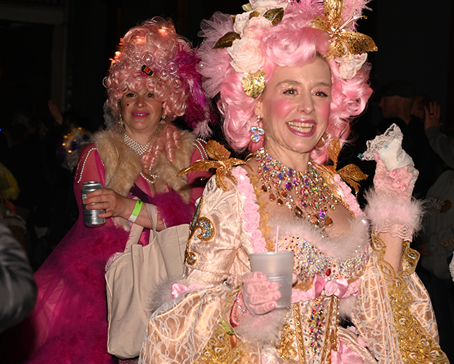 Krewe Boheme pink ladies