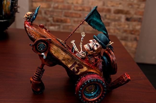 Sue Urquhart's ghost rider
