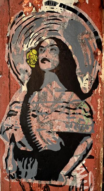 Door jam street art