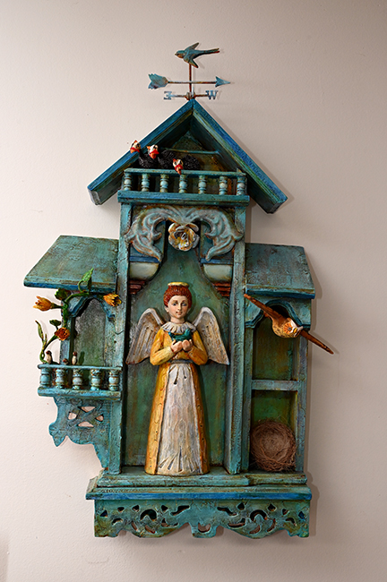 Assemblage 'The Bird Angel' 1
