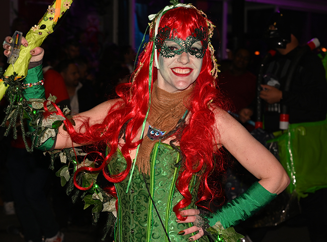 Krewe of Chewbacchus red hair
