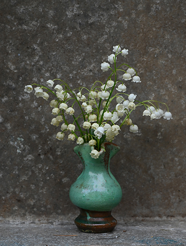 Flower arrangement lily of the valley 1