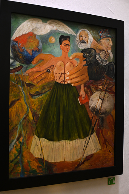 Self portrait Frida Kahlo