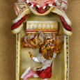 Assemblage sardine can wolf dancing front