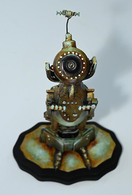 Assemblage robot Oja-1 detail