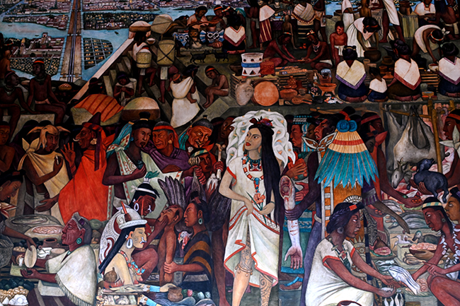 Mural by Diego Rivera 1