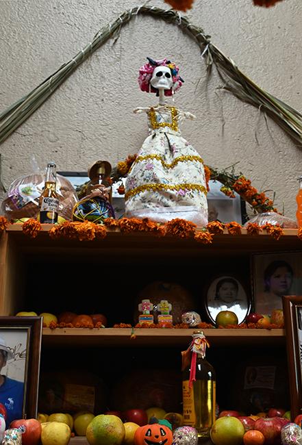 Ofrenda in Oaxaca 1