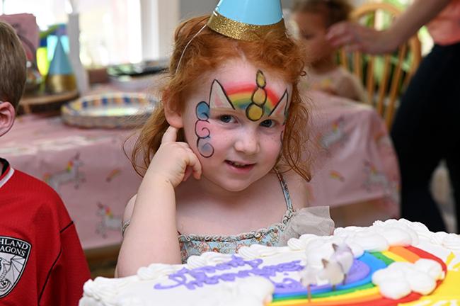 Juniper and her cake
