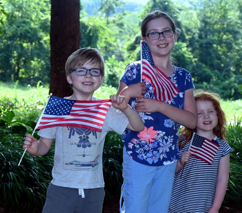 Grandchildren on 4th