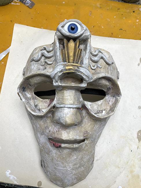 Building the Mask Third Eye