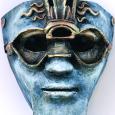 Assemblage mask Third Eye